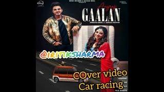 ARMAAN BEDIL ANGREJI GAALAN Official Car Racing iritiksharma Gurlej Akhtar