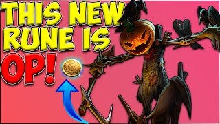 """FIDDLESTICKS GOES """"NUCLEAR"""" WITH THIS RUNE?? RIOT WTF! 