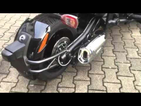 Can Am Spyder F3 >> BRP Can Am Spyder F3-S mit Akrapovic Sportauspuff - YouTube