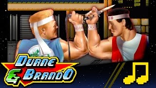 DOUBLE DRAGON RAP | Duane & BrandO