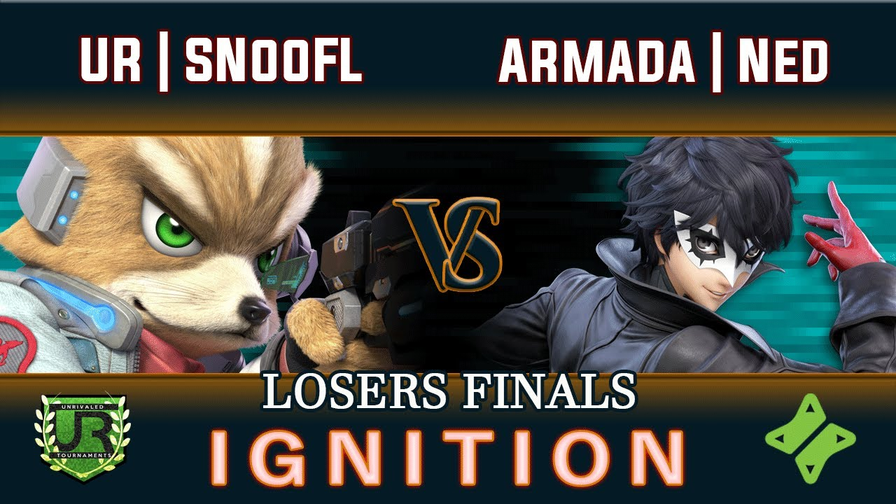 Download Ignition #213 LOSERS FINALS - UR | SNooFL (Fox) vs Armada | Ned (Joker)