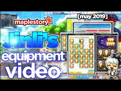 MapleStory: Jinli's New Equipment Video (Dual Blade - May 2019)