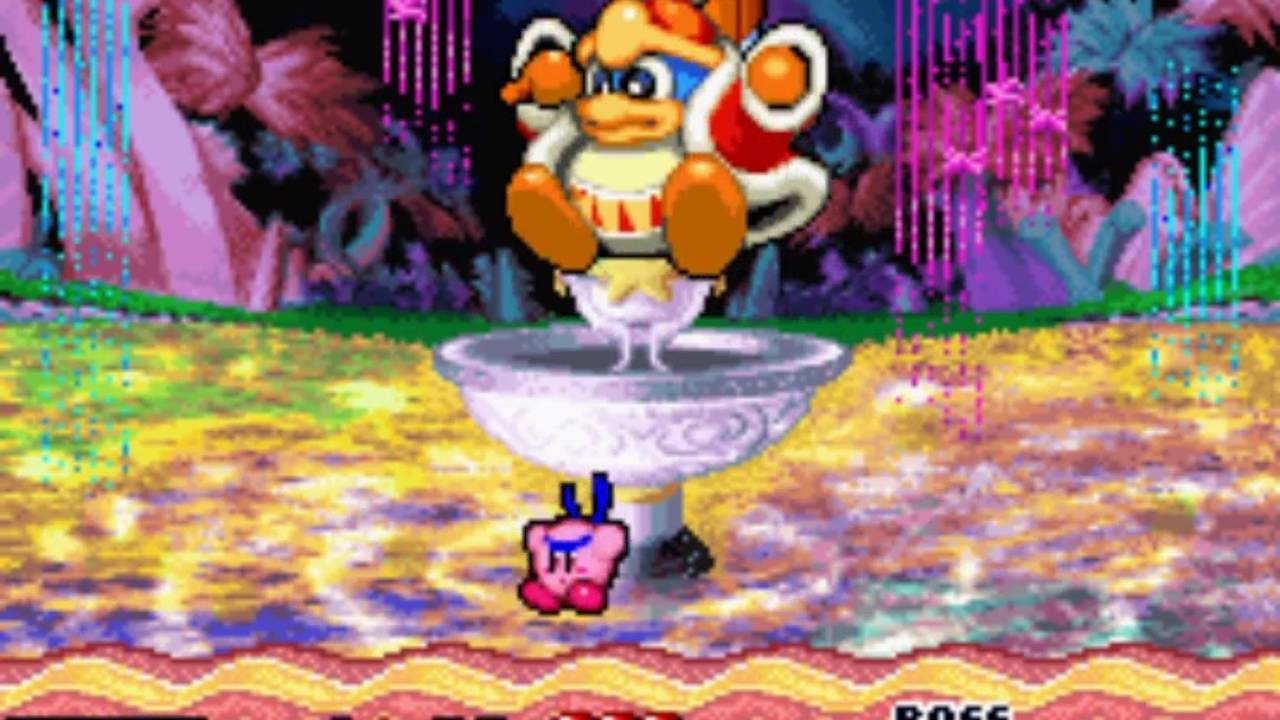 Kirby Nightmare in Dream Land Throw only run (Boss ...