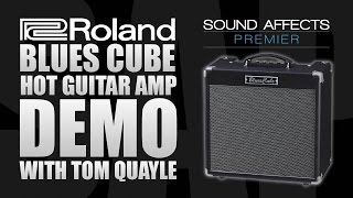 Roland Blues Cube Hot Guitar Amp Demo (New for 2016)