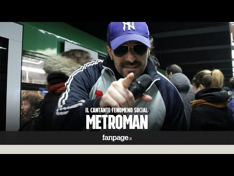 """Metroman, il fenomeno social della metropolitana di Milano: """"Vengo dalla strada come Rocky"""""""