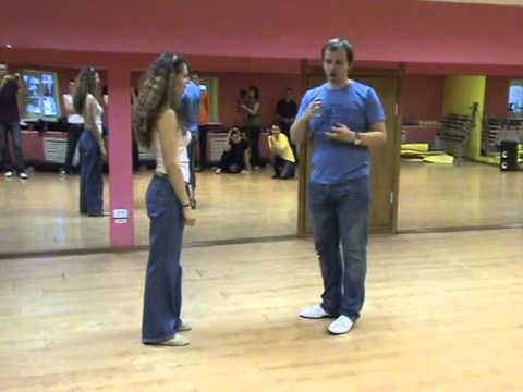 Sergey & Olga Lindy Hop class 1 & 2 at Lindy Weekend 2013 Kirov