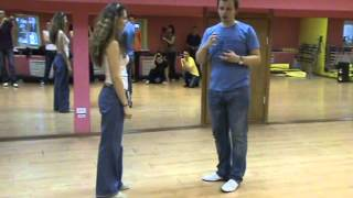 Sergey & Olga Lindy Hop class 1 & 2 at Lindy Weekend 2013 Kirov