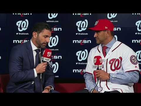 New Nats skipper Dave Martinez sits down with F.P. Santangelo