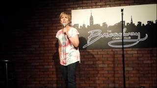 Sandy Bernstein at the Broadway Comedy Club