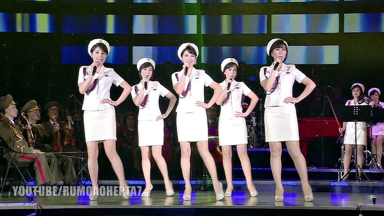 North Korean Moranbong Band With Pride English