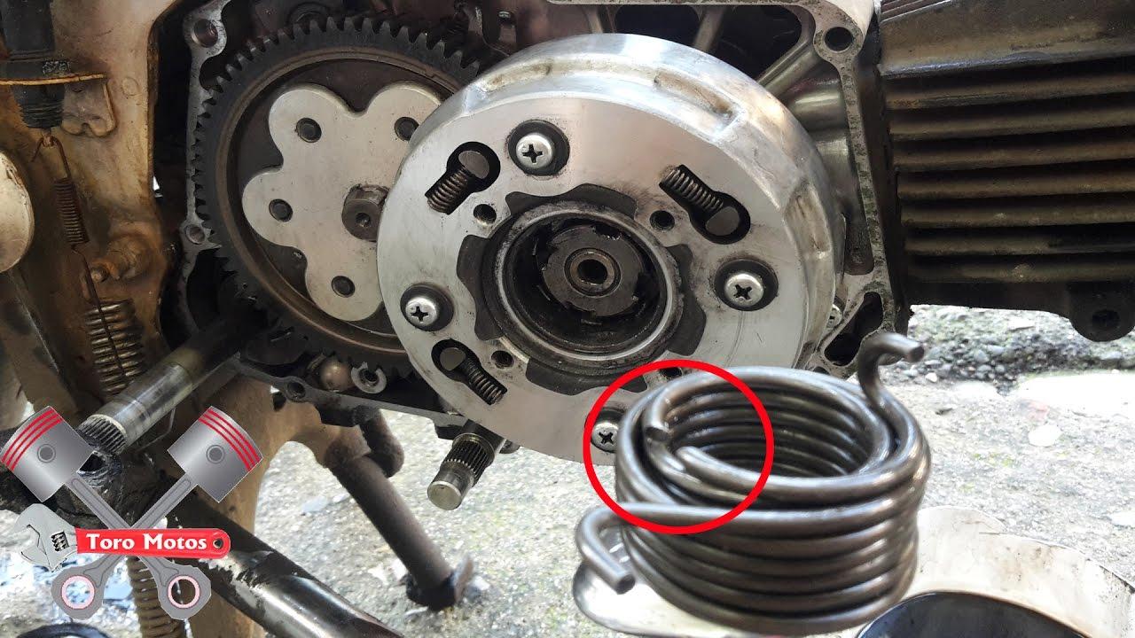 50cc Yamaha Wiring Diagram Honda C90 Cambio Resorte Del Crank Primera Parte