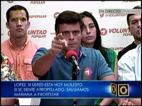 López a Maduro: Póngase los pantalones y sea valiente