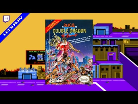 [Twitch][Let's Play] Double Dragon 2 (NES)
