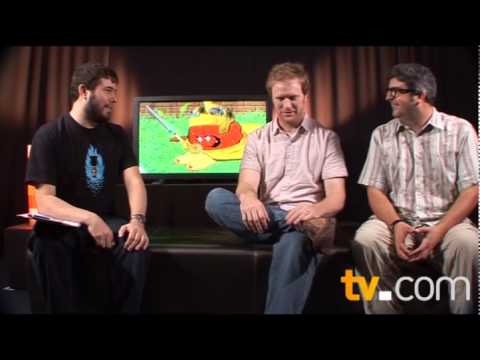 Dave Willis and Dana Snyder on Aqua Teen Hunger Force