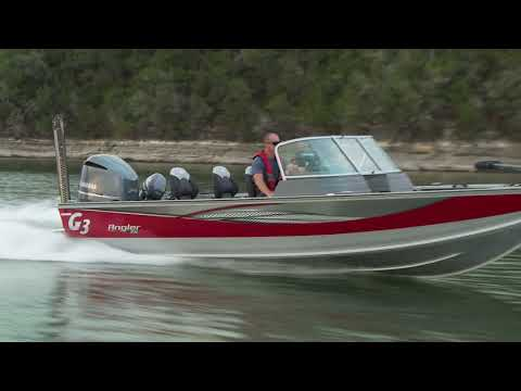 G3 Boats 2018 Angler V21 F Product Video