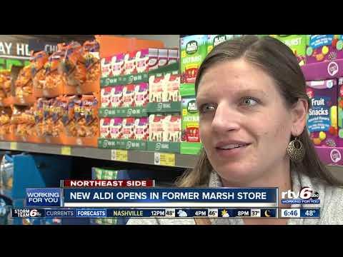 New Aldi Opens In Former Marsh Store