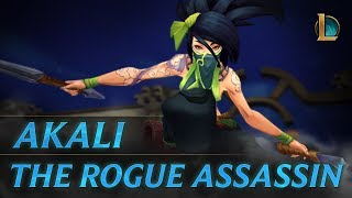 Akali: The Rogue Assassin | Champion Trailer - League of Legends thumbnail