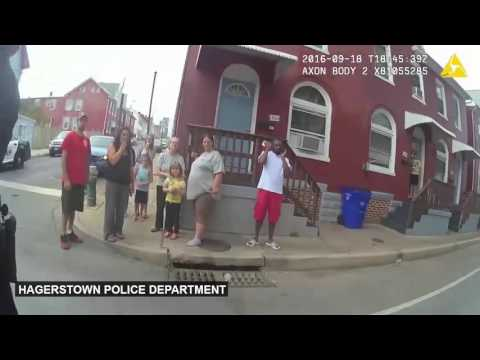 Police in Hagerstown Releases Full Video of officers pepper-spraying a 15-year-old girl