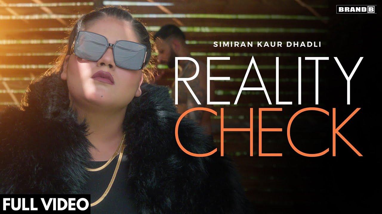 REALITY CHECK (Lyrical Video) : Simiran Kaur Dhadli | Nixon | Bunty Bains | New Punjabi Song 2021