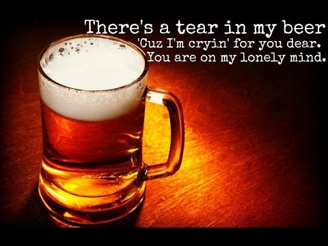 Hank Williams Jr & Sr  There's A Tear In My Beer