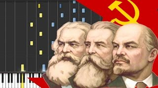 The Internationale (Communist Movement) Piano Synthesia