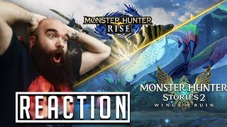 This made my week!! - React Monster Hunter rise + Monster Hunter Stories 2