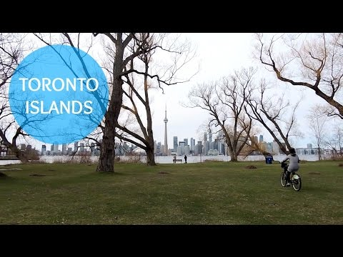 BIKING THE TORONTO ISLANDS + BEST TEENAGE MEMORIES