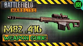 battlefield hardline m82 416 review gameplay best gun setup   weapon guide bfh