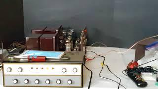 The Fisher - 80-AZ - Pair Mono Amplifiers - Quick eBay Demo