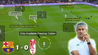 Download the onefootball app: http://tinyurl.com/yxw7kwqx in today's video, i've tried to analyze quique setien's 1st game in-charge of barcelona which barce...