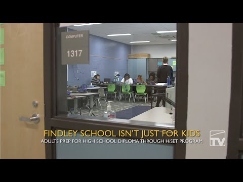 At Findley, School's Not Just for Kids Anymore