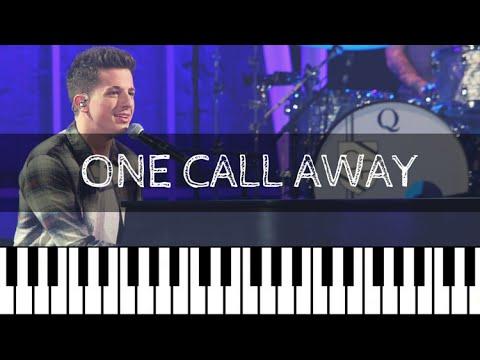 Charlie Puth - One Call Away | Piano Tutorial Nederlands