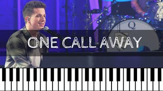 Video Charlie Puth - One Call Away | Piano Tutorial Nederlands download MP3, 3GP, MP4, WEBM, AVI, FLV Januari 2018