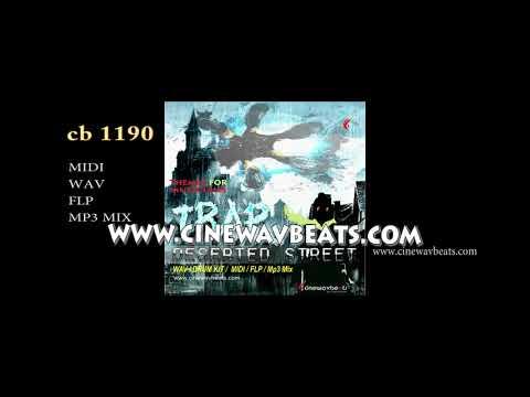 Heroic Vengeful, Trap Deserted Street, Music Pack, key,  F Sharp min, Bpm 140