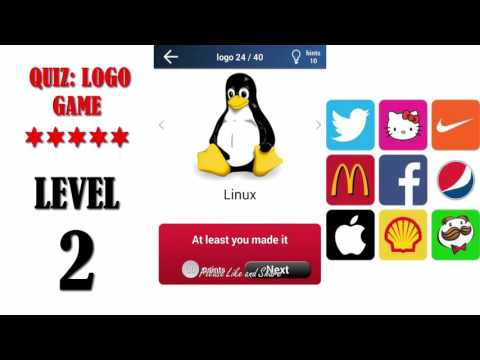 Quiz: Logo Game Level 2 - All Answers - Walkthrough ( By Lemmings At Work )