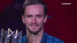 Медведев победил Зверева в финале | Мастерс в Шанхае – обзор матча