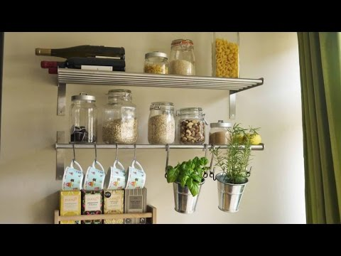 Kitchen Wall Shelves | Building Kitchen Wall Shelves