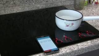 видео Индукционная варочная панель