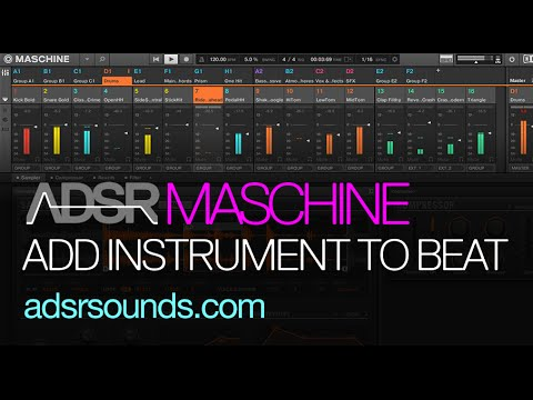 Maschine Tip - Adding instruments to a sampled beat