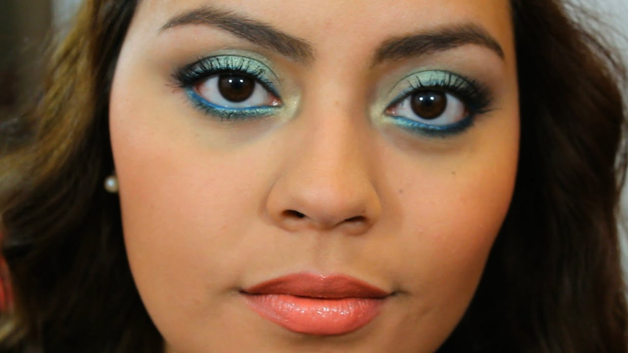 Diy Wedding Makeup Bare Minerals : Wearable Mermaid Eyes! :) Bare Minerals The Winner Is ...