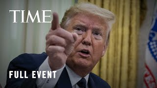 President Trump Holds News Conference Following U.S. Protests and Tensions with China | LIVE | TIME