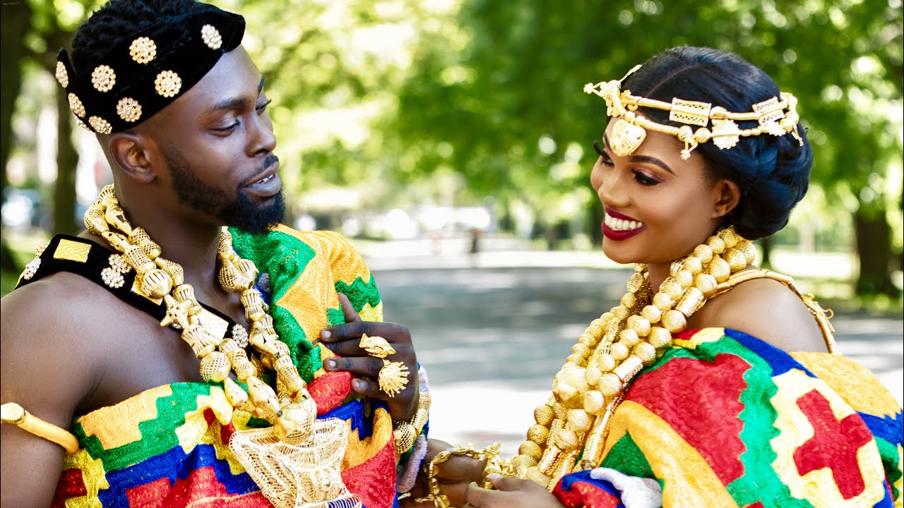 AN ASHANTI WEDDING ( KING & QUEEN) 2019