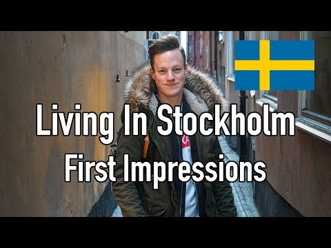 My First Impressions of Living In Stockholm