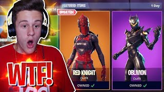 RED KNIGHT SKIN IS BACK in Fortnite! - NEW SKIN UPDATE! (Fortnite: Battle Royale)