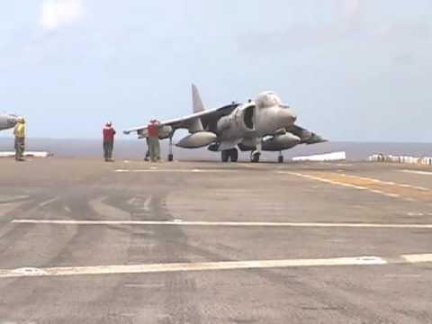 Harrier Vertical Landing & Takeoff