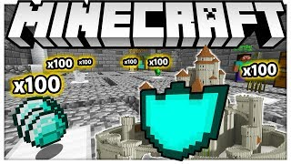 THE BEST CASTLE DEFENSE *BRAND NEW GAMEMODE* - MINECRAFT ISLAND DEFENSE - MODDED MINECRAFT MINIGAME