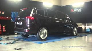 Opel Zafira Tourer 2.0 cdti 165cv Reprogrammation Moteur @ 204cv Digiservices Paris 77 Dyno