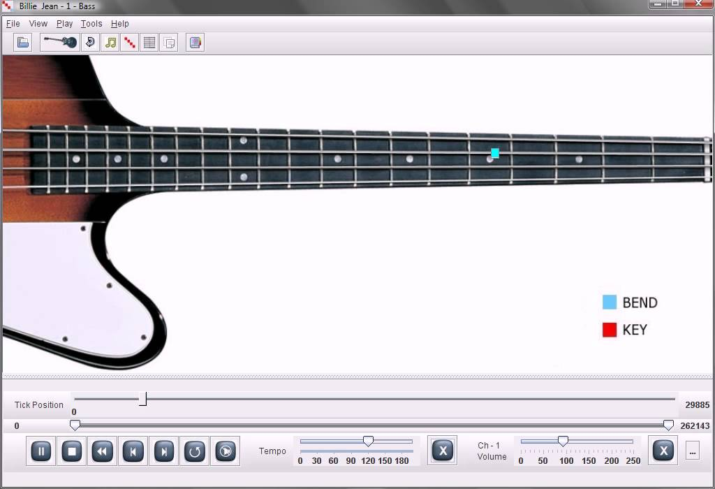 Michael Jackson Billie Jean Bass Lesson Chords - Chordify