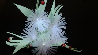 Best Out Of Waste Plastic Can transformed to Wonderful flowers showpiece