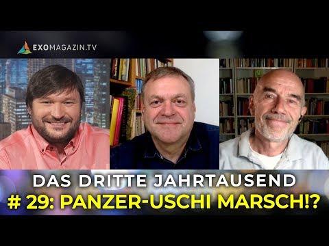 Panzer-Uschi zur EU - Ramstein-Demo - Totale Überwachung | Das 3. Jahrtausend #29